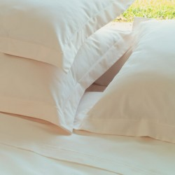 Lot de 10 taies traversins 100% coton blanc 85x185 Bourdon