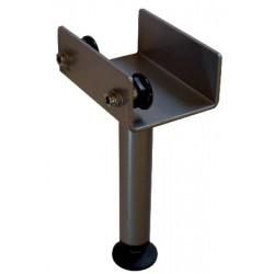 Pied central hauteur reglable 22 à 28 cm
