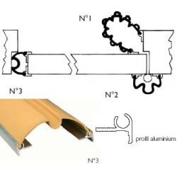 Anti-pince doigts garomin® L140 cm pour tête de porte