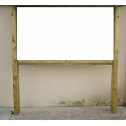 Panneau d'affichage Bakou sans toit 130x130 cm