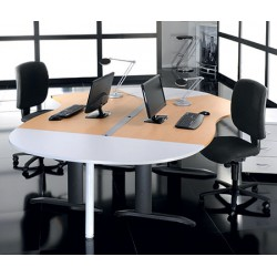 Bureau Office plan 135° L180 à droite