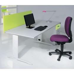 Bureau Office rectangulaire L140 cm