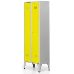 Vestiaire Eco industrie propre 3 cases L90xP50xh190 cm