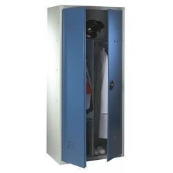 Armoire penderie monobloc à serrure de sureté L80xP50xH180 cm