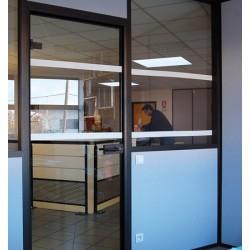 Ruban adhésif de repérage des surfaces vitrées 10x0,05 m