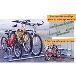 Supports 3 vélos gain de place