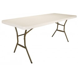 Table pliante polyéthylène Optimum 183x76 cm