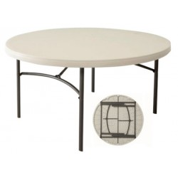 Table pliante polyéthylène Optimum diam 152 cm