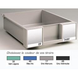 Lot de 10 tiroirs H9 cm