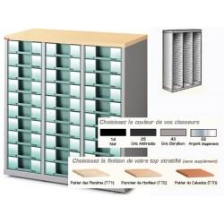 Comptoir vide 3 colonnes H99xL93xP39,5 cm