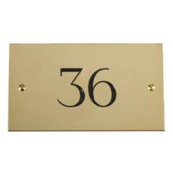 Chambre Numéro Brosse 37xl67 Mm De H En Ovale Laiton Plaque HeEI2YD9W