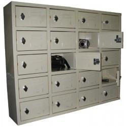 Meuble 20 casiers consignes L100xH100xP25 cm