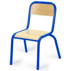 Chaise maternelle 4 pieds chants protégés Elise TC à T3