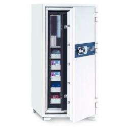Coffre ignifugé pour supports sensibles 180L serrure électronique L69xP72xH130 cm