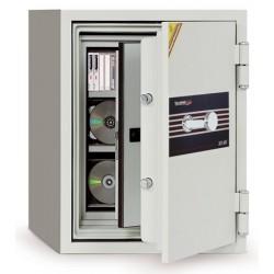 Coffre ignifugé 27L électronique pour supports sensibles H69,5xL50xP50 cm