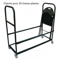 Chariot pour 24 chaises pliantes