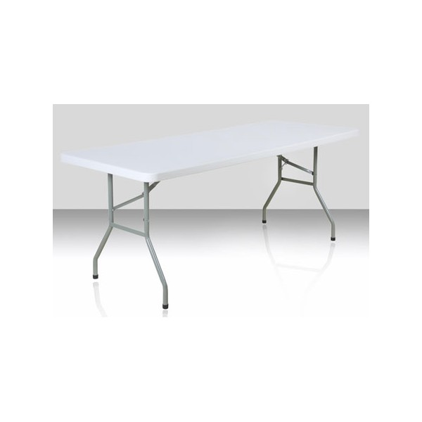 183x76 Polyéthylène Table Cm Eco Pliante eDW2YH9bEI