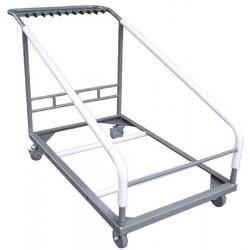 Chariot pour 8 tables diam 178 cm Qualiplus