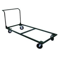 Chariot avec poignée pour transport de tables L120 cm
