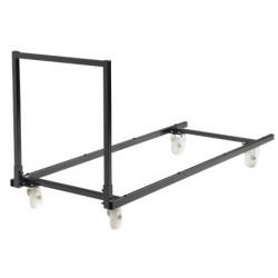 Chariot Eco pour tables rectangulaires de 120 a 180 cm