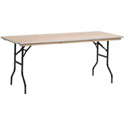 Table pliante qualité pro 180x80 utilisation intensive