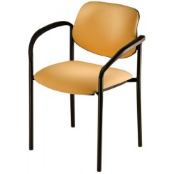 Lot de 4 fauteuils empilables Galiléo tissu non feu M1