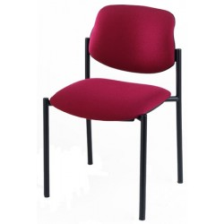 Lot de 4 chaises empilables Galiléo tissu non feu M1