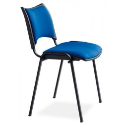 Chaise empilable Nolwenn tissu enduit M2