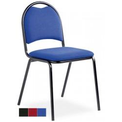 Chaise empilable et assemblable Eglantine tissu non feu M1 King