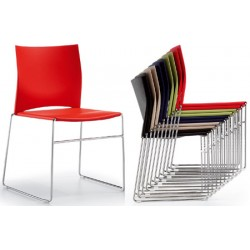 Chaises empilables Jade
