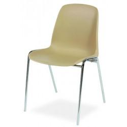 Chaise coque empilable et accrochable Sophie II M4