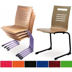 Chaise luge Canada vernis teinte