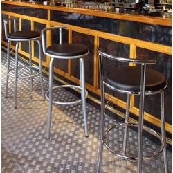 Tabouret de bar Tallard assise PVC