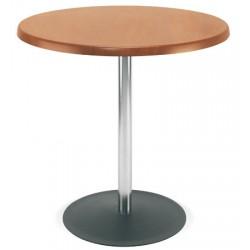 Table Lena hêtre naturel diam. 80 cm H75 cm T6