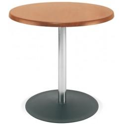 Table Lena hêtre naturel diam. 60 cm H75 cm T6
