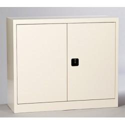 Armoire métallique portes battantes 102x120 cm