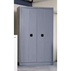 Armoire métallique portes pliantes 102x120 cm
