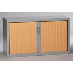 Armoire métallique monobloc à rideaux 50x120 cm