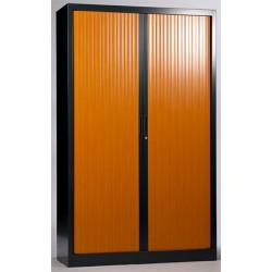 Armoire métallique monobloc à rideaux 198x120 cm