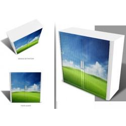 Achat image pour armoire à rideaux Futura