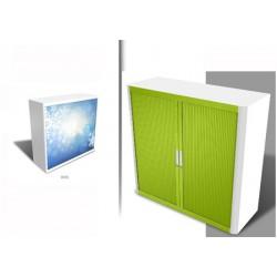 Personnalisation armoire à rideaux Futura H104 cm dos