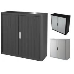 Armoire à rideaux Futura Ecoline coloris standard L110 x P41,5 x H104 cm