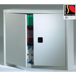 Armoire monobloc métal portes battantes NF Office Excellence 102x100x43 cm