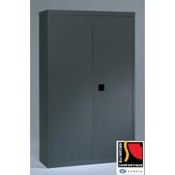 Armoire monobloc métal portes battantes NF Office Excellence 198x120x43 cm