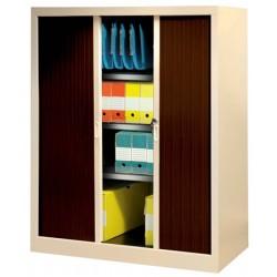 Armoire à rideaux PVC M1 NF Office Excellence 135x120x43 cm