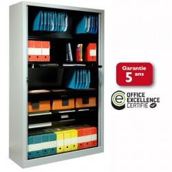 Armoire à rideaux PVC M1 NF Office Excellence 198x100x43 cm