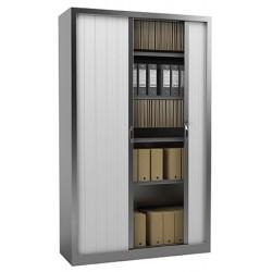 Armoire à rideaux PVC M1 NF Office Excellence 198x120x43 cm