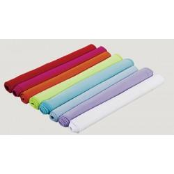 Serviette microfibre 80x130 cm blanc ou couleur 210 g