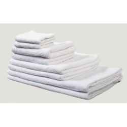 Lot de 36 draps de douche 70x140 cm coton blanc 420 g