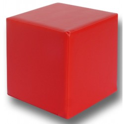 Pouf cubique 40x40 cm assise H40 cm